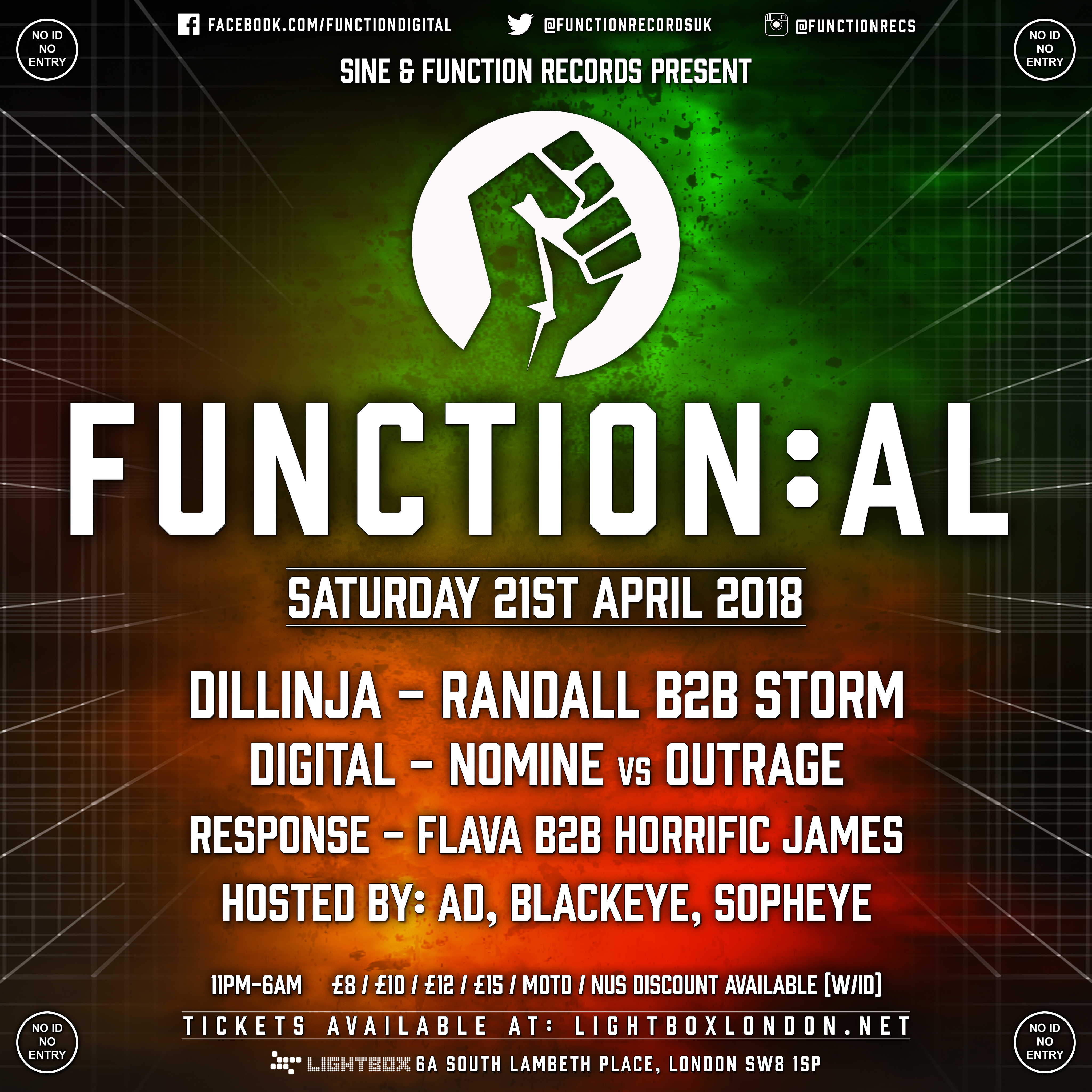 FUNCTION:AL  21ST APRIL 2018