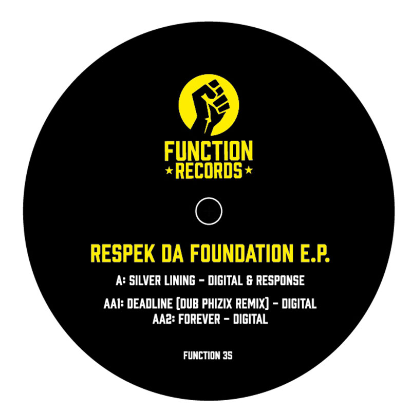 Pre order - Function Records - Respek Da Foundation Ep