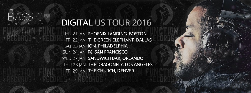 American Tour 21st Jan - 29th Jan 2016