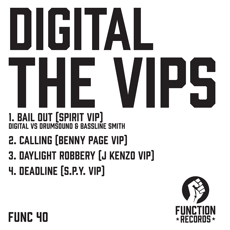 DIGITAL THE VIP'S & T-SHIRT BUNDLE