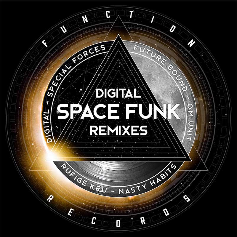 Digital - Space Funk Remixes 2 x 12